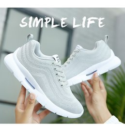 Black Sports Walking Shoes Women Australia - 2019 Wholesale Men Women running Racers casual Shoes Trainer Chukka Black Red Blue Grey Lightweight Breathable Walking Sneakers Sports Shoes