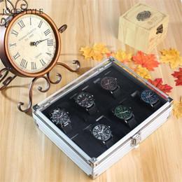 $enCountryForm.capitalKeyWord Australia - 12 Grid Slots Watch Box Jewelry Storage Box Organizer For Rings Bracelet Display Holder Case Box Inside Container Relogios MX190713
