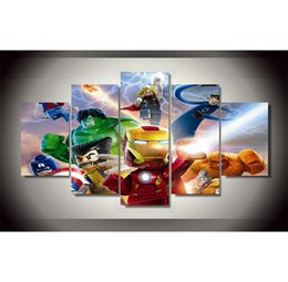 $enCountryForm.capitalKeyWord NZ - Marvel superheroes -3,5 Pieces HD Canvas Printing New Home Decoration Art Painting Unframed Framed