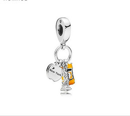 $enCountryForm.capitalKeyWord UK - Fits Pandora Bracelets Statue Of Liberty Car Silver Charms Bead Dangle Charm Beads For Wholesale Diy European Sterling Necklace Jewelry