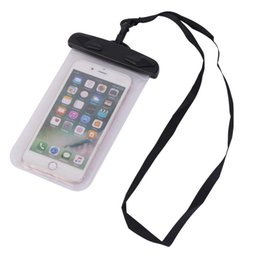 Wholesale Waterproof case Universal Water Proof Bag armband pouch Cover For all iphone Cell Phone cover bag DHL fast
