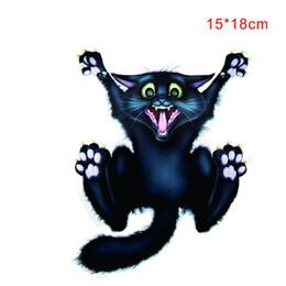 $enCountryForm.capitalKeyWord Australia - Halloween Car Wall Home Black Cat Sticker Mural Decor Decal Removable Terror New