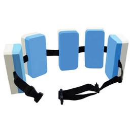 Float boards online shopping - Swimming Floating Plate Train Water Float Foam Belt Backplane Board Adult Children Waistband Adjustable Safety Hot Sale jyf1