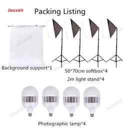 استوديو عدة كبيرة الصمام مصباح الفوتوغرافي softbox نموذج الملابس لملء ضوء معدات دعم الصور CD50 T03