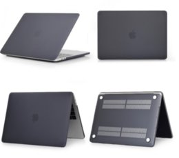 Funda para laptop mate / cristalina para Macbook Pro Retina Air 11 12 13 15,2019 para mac Air 13, nueva pro 13.3 15.4 A1707 A1708 cubierta de cáscara en venta