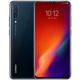 "lenovo lte Canada - Original Lenovo Z6 4G LTE Cell Phone 8GB RAM 128GB ROM Snapdragon 730 Octa Core 6.39"" OLED Full Screen 24.0MP Fingerprint Smart Mobile Phone"