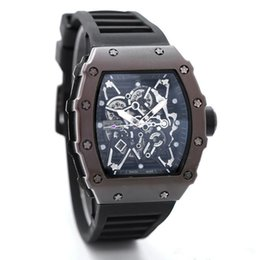 Wholesale Best Deal Luxury brand Fashion Skeleton Watches men or women Skull sport quartz watch gift cool wristwatches