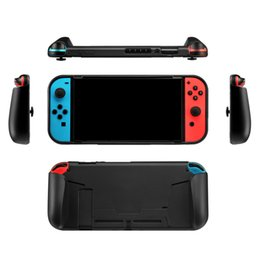 Game Switch Australia - Hot sale Console TPU Protective Grips Cover Case Stores 4 Games For Nintend Switch free shipping
