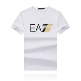 Wholesale stylish mens white t shirts online – design 19SS This Season s Latest Hot Seller Monogram Printing Cotton Mens Designer T shirts Modern Stylish Designer Shirt