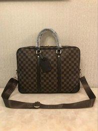Designer men briefcase online shopping - New Designer quot laptop Bag Cross Body Shoulder Notebook Business Briefcase Computer Bag With Men Messenger Bag
