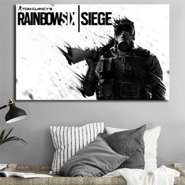 rainbow canvas prints Australia - Tom Clancy's Rainbow Six Siege Smoke Ace HD Wallpaper Art Canvas Poster Painting Wall Picture Print For Home Bedroom Decoration