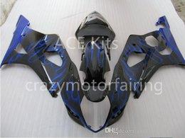 $enCountryForm.capitalKeyWord NZ - 3 gifts Fairings For K3 SUZUKI GSX-R1000 03-04 GSXR1000 GSX- GSX R1000 03 04 GSXR 1000 K3 2003 2004 Black Blue flame S16