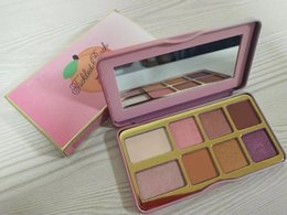 Peach Eyeshadow Australia - Brand Cosmetic 8 Colors Eyeshadow Palette Tickled Peach Sugar Cookie Matte Shimmer Christmas Eye Shadow High Quality