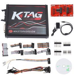 Ecu Programmer Kit Australia - For V2.23 KTAG ECU Programmer Cable Tool V7.020 PCB Online Version Unlimited Token Auto Car Vehicles Repair Tools Diagnosis Kit