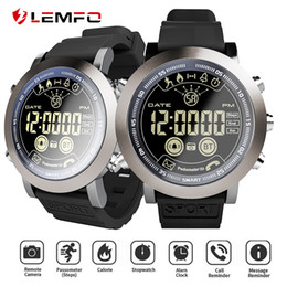 reloj smartwatch inteligente NZ - LF23 Smart Watch 5ATM waterproof Pedometer 610MAh Battery 33months Long Standby Time Smartwatch Men reloj inteligente