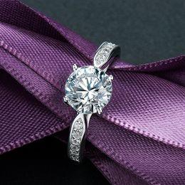 Man Made Diamonds Australia - Customer Made Love Quality Goods Diamond Ring Men Women Lovers Silver Jewelry Propose Marry Moissanite C19032101