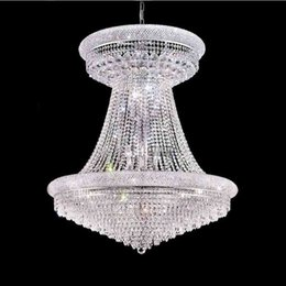Phube Lighting French Empire Gold Large Crystal Chandelier Lustre Chrome Chandeliers  Lighting Modern Chandeliers Light c9d62d2b9b6b