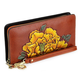 Cow Hand Bag Australia - lady evening bag genuine leather day clutches bags woman 2019 party beach fashion vintage clutch hand travel bags cow leather