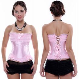 Vintage Gothic Lace Up Corset 2019 Sexy in acciaio disossato broccato corsetto nuziale indumenti intimi Shapewear tuta hot lingerie tute CPA1363