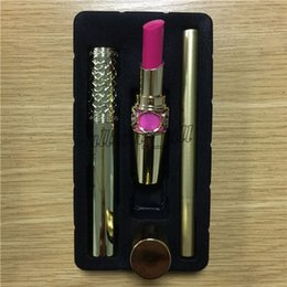 Lipstick c online shopping - Factory Direct Sell Make Up Kit Mascara Lipstick Eyeliner in SET styles Set A B C Cosmetics
