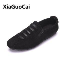 Car Lights Australia - Spring Autumn Man Casual Shoes Canvas Breathable Retro Light Fashion Car suture Hard-Wearing Korean Walking Flat Shoes Male #276211