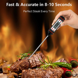 kitchen utilities NZ - Kitchen Utility Accessiories Insert Probe Baking Thermometer Barbecue Meat Milk Liquid Temperature Measurement