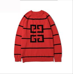 Hand knit clotHing online shopping - GV Brand Designer Sweater For Mens Pullovers Luxury Hoodies Sweatshirts With Logo Long Sleeve Spring Brand Jumper Tops Clothing M XL