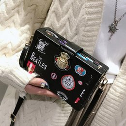 box handbags NZ - Crossbody 2019 Bags For Women Leather Handbags Handbags Women Bags Designer Badge Box Shoulder Messenger Bag Sac A Main