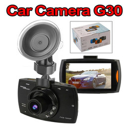 Car hdd online shopping - Car Camera G30 quot Full HD P Car DVR Video Recorder Dash Cam Degree Wide Angle Motion Detection Night Vision G Sensor with package