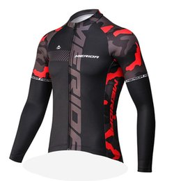 cd7171d70 2019 MERIDA spring autumn Classic cycling jersey for men Road bike cycling  wear Maillot Ciclismo long sleeve MTB bicycle clothing Y013040
