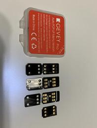 $enCountryForm.capitalKeyWord NZ - 100% original GEVEY sim unlock card black chip blacksim unlocking iphone x xs xr max iphone8 7 6 5s SE IOS12.3.3 12.4 all carrers