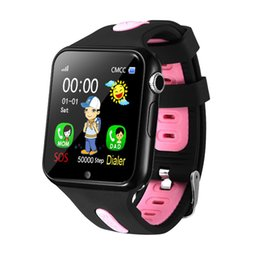 Chinese  V5+ Children's Smart Watch Waterproof Touch Screen Photo Smart Watch Multi-function Positioning Best Gift manufacturers