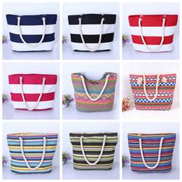 $enCountryForm.capitalKeyWord Canada - 19styles Printing Female Canvas Bag Shoulder Bag handbag Wild Large Capacity Simple Wild Beach Bag Casual Geometric Figure Bags FFA2512