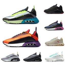 Nike air max 2090 airmax Stock X Cheap Duck Camo 2090 Mens running shoes Pure Platinum 2090s Photon Dust Clean White black men women Outdoor sports designer sneakers