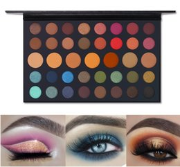 Colorful Makeup Palettes UK - Wholesale Factory DHL 39 Colorful Shimmer Matte Artist Eyeshadow Palette Silky Pigmented Hot Eye Shadow Powder Makeup Natural Nude Eyelids