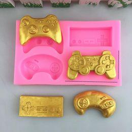 $enCountryForm.capitalKeyWord Australia - Game Machine Mould Chocolate Cake Mold Silicone Manual Candy Pattern Die Kitchen Baking Tools Eco Friendly Practical 3 5dya