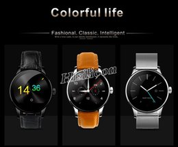 smartwatch ios k88h UK - K88H Smart Watch IPS Full Screen Support Heart Rate Monitor Bluetooth Pedometer Dialing Remote Smartwatch For IOS iphone Android