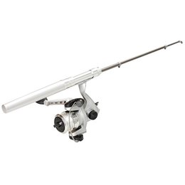 $enCountryForm.capitalKeyWord Australia - Mini Stretchable Fishing Rod Pole Reel Pocket Pen Type with Nylon Line Set &T8