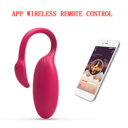 remote control female massager Canada - Waterproof APP Wireless Remote Control Vagina Vibrating Egg Female Sex Toys Women G-spot Massager Masturbator Clit Stimulator
