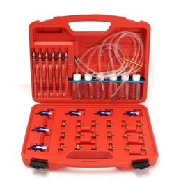 Discount test tools - 36Pcs Injector Flow Meter Adapter Test Kits For Common Rail for Diesel Fuel Tester Diagnosis Tool Set 6 injector tested