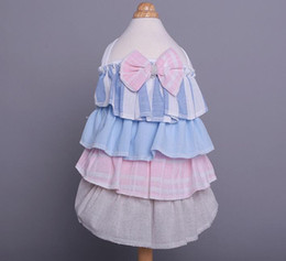 Discount dresses for cats - Tiered Dog Dress Pet Dog Cat Clothes For Dogs Multilayer Summer Puppy Cat Clothes Pet Dress Skirts For Dogs Pets Clothin