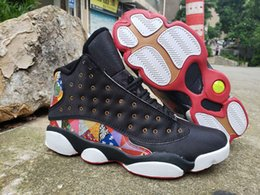 $enCountryForm.capitalKeyWord Australia - New 13 CNY Chinese New Year Men Basketball Shoes Cheap Black True Red White traditional 13s Mens Sneakers EUR 40-47