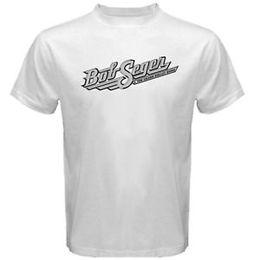 $enCountryForm.capitalKeyWord Australia - Bob Seger and The Silver Bullet Band Classic Logo Men's White T-Shirt Size S-3X