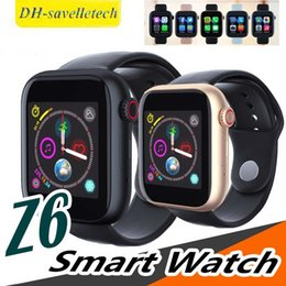 $enCountryForm.capitalKeyWord Australia - Top quality z6 Smart Watch with Camera Touch Screen Support SIM TF Card Bluetooth Smartwatch for Android IOS