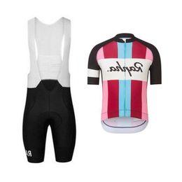 $enCountryForm.capitalKeyWord Australia - 2019 Rapha Cycling Team Clothing Bike Jersey Quick Dry Mens Bicycle Clothes Short Sleeves Pro Cycling Jersey Gel Bike Bib Shorts Set 122712y