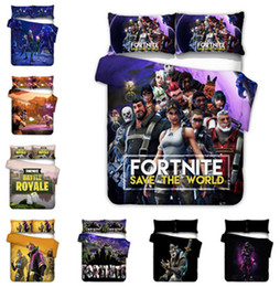 Mint green bedding sets online shopping - 3D Fortnit Game Design Bedding Set PC PC Duvet Cover Set Of Quilt Cover Pillowcase Twin Full Queen King Size