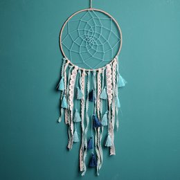Products Manuals Australia - Hot Selling Creative New Gradient Tassel Dream Catcher Pendant Polychrome Bohemian Dream Catcher Pendant Wall Hanging Decor Manual Products