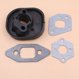 $enCountryForm.capitalKeyWord NZ - Cheap Chainsaws Intake Manifold Carburetor Gasket Kit for Partner Chainsaw 350 351 370 371 420 McCulloch MacCat 335 435 440 Chain Saw Spares