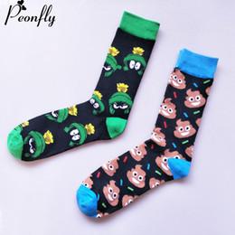 Frog tube online shopping - Personality harajuku Socks funny Cartoon lovely animal Frog Color Spell Pick Sock Man Medium Tube cotton casual Socks pairs