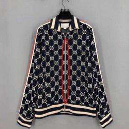 Envío gratis la versión más alta de los hombres ropa deportiva de alta calidad de tela de los hombres de los deportes de moda Zip G carta patrón M-3XL en venta